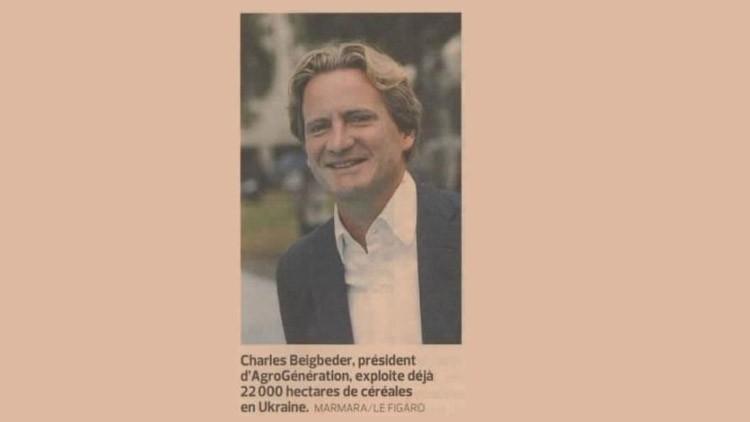 Agriculteur : la nouvelle vie de Charles Beigbeder