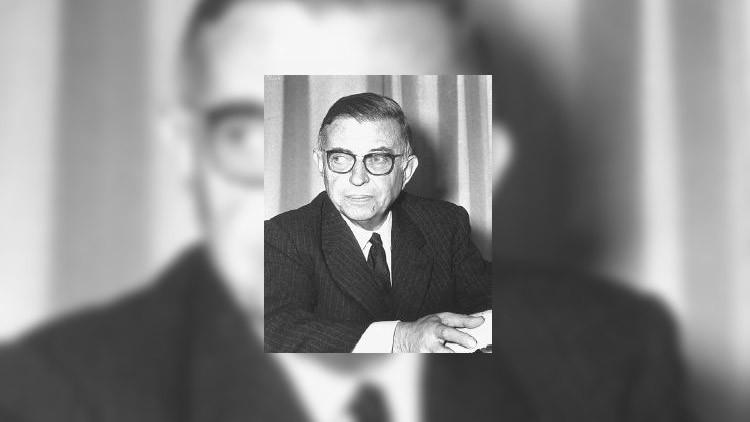 Sartre : l'art de la baudruche