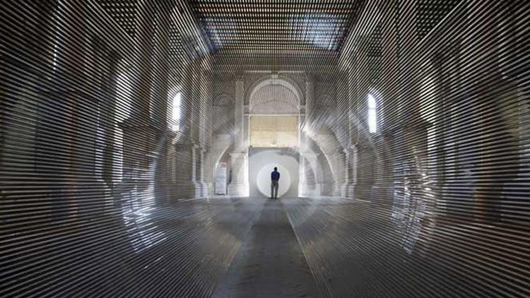 Le «Tube» de Zilvinas Kempinas à la biennale de Venise : quelques photos